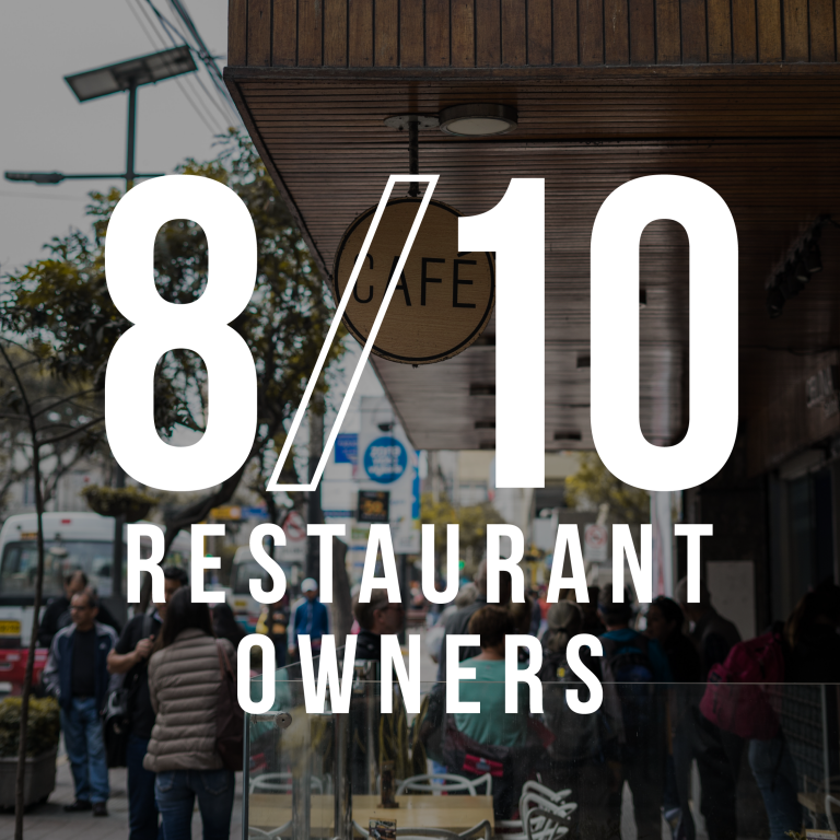 8 of 10 restaurant owners