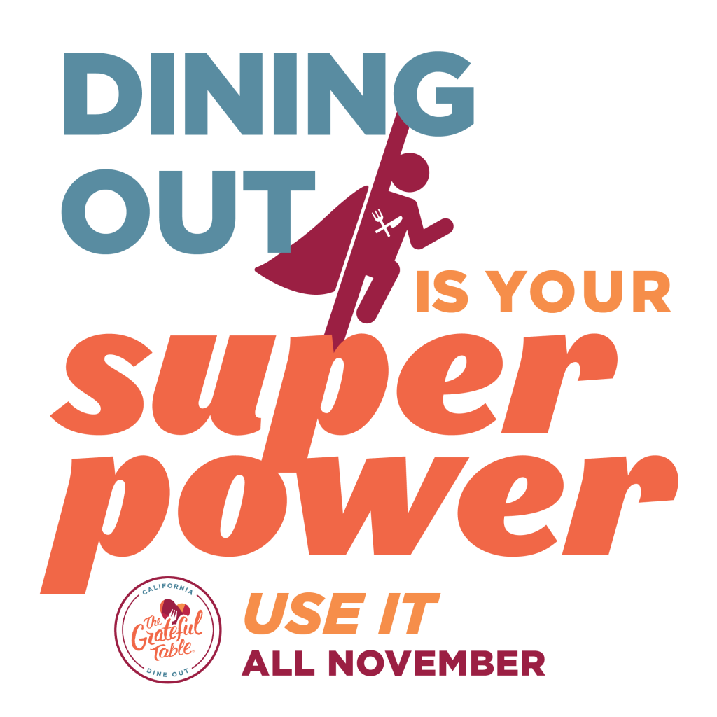 Dining Out is Your Super Power!